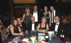 Some of the Alston Murphy staff and their partners at the Demolition Ball 2012