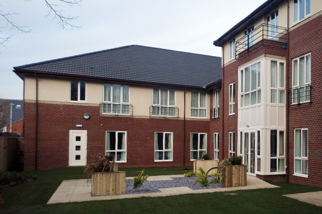 Crown care home opens in selby ama care architects Nursing home architecture